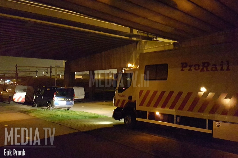 Prorail incidentenbestrijdingsteam ingezet voor defecte trein