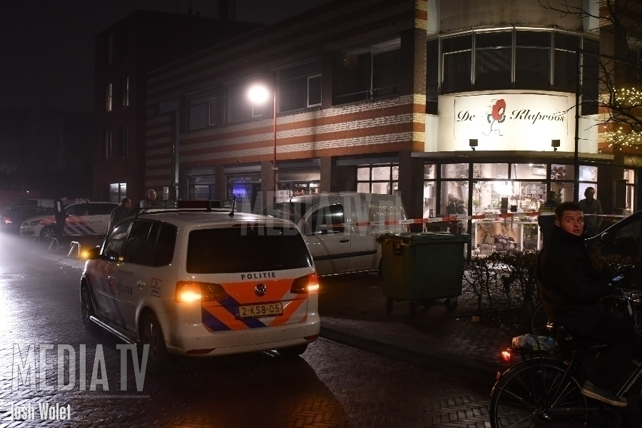 Overval op bloemenwinkel Willemstraat Bodegraven (video)