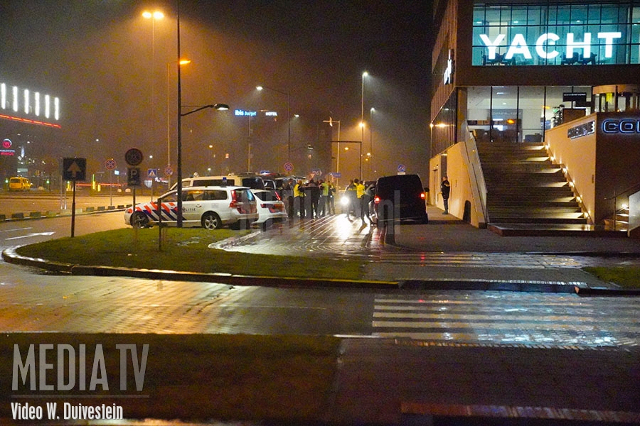 Bommelding bij Wings hotel op Rotterdam The Hague airport (video)